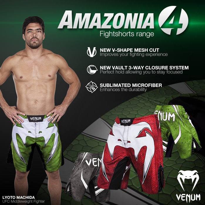 fc48d4a413 Venum ''Amazonia 4.0'' MMA Şort - Yeşil - Venum Amazonia 4.0 Fight ...